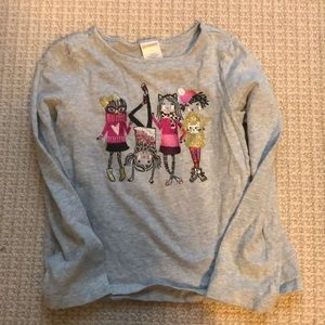 Long sleeve tee shirt from Gymboree 5T